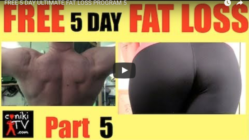 Fat loss part 5